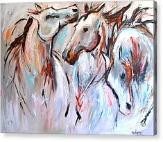 Freedom Acrylic Print by Cher Devereaux