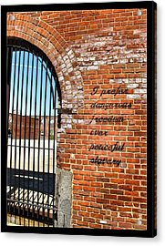 Freedom Acrylic Print by Edward Hamm