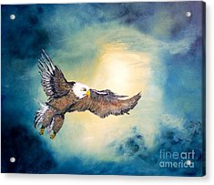 Freedom Flyer Acrylic Print