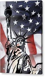 Freedom For Citizens Acrylic Print by Daniel Hagerman