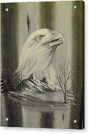 Freedom Hunter Acrylic Print by Ricky Haug
