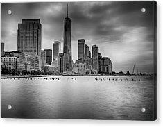 Freedom In The Skyline Acrylic Print