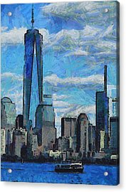 Freedom Isn't Free Acrylic Print by Dan Sproul