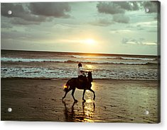 Freedom Acrylic Print by Lana Enderle