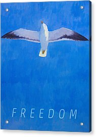 Freedom Acrylic Print by Lutz Baar