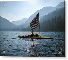 Freedom Of The Sierras Acrylic Print by Cheryl Wood