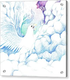 Freedom Oneness Art Acrylic Print