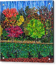 Freedom Park 1 Acrylic Print by Micah Mullen