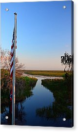 Freedom Pass Acrylic Print by Ken  Collette