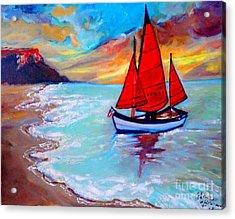 Freedom Sails Acrylic Print