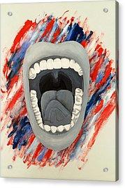 Americas Voice Acrylic Print by Scott French