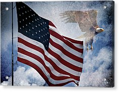 Freedom Acrylic Print by Scott Pellegrin