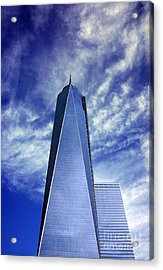 Acrylic Print featuring the photograph Freedom Tower - New York City by Rafael Quirindongo