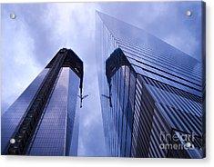 Freedom Tower Ground Zero New York City Acrylic Print by Sabine Jacobs