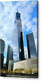 Freedom Tower Acrylic Print by Stephen Stookey