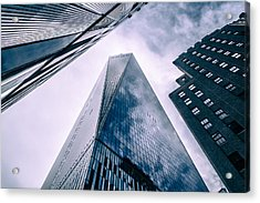 Acrylic Print featuring the photograph Freedom Tower by Wade Brooks