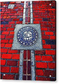 Freedom Trail Acrylic Print by Benjamin Yeager