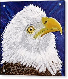 Freedom's Hope Acrylic Print by Vicki Maheu