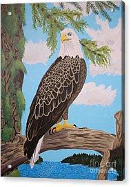 Freedom's Pride Acrylic Print by Vicki Maheu