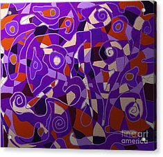 Freeflow 08 Acrylic Print by Shesh Tantry