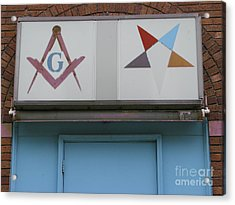Freemasons Acrylic Print