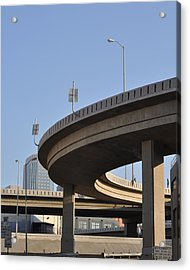 Freeway Acrylic Print by Stuart Hicks