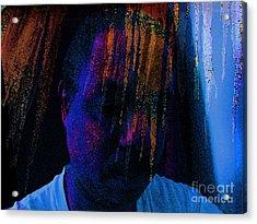 Freeze Brain Acrylic Print by Cedric Hampton