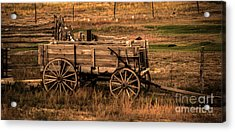 Freight Wagon Acrylic Print by Robert Bales
