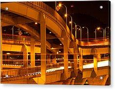 Fremont Bridge Acrylic Print