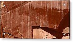 Fremont Culture Petroglyphs In Utah Acrylic Print