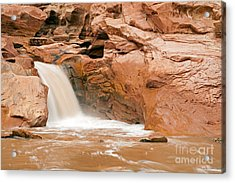 Fremont River Falls Capitol Reef National Park Acrylic Print