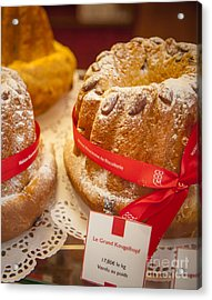 French - Alsace Pastry Acrylic Print by Brian Jannsen