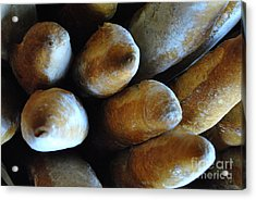 French Bread Basket Acrylic Print by ARTography by Pamela Smale Williams