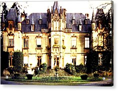 French Chateau 1955 Acrylic Print by Will Borden