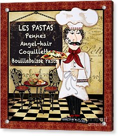 French Chef-c Acrylic Print