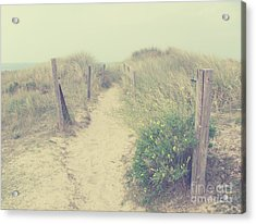 French Coast Beach Acrylic Print by Svetlana Novikova