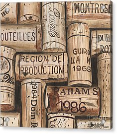 French Corks Acrylic Print