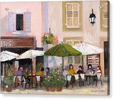 French Country Cafe Acrylic Print