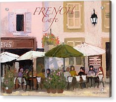 French Country Poster Acrylic Print
