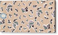 French Fabrics First Half Of The Nineteenth Century 1800 Acrylic Print by Liszt Collection