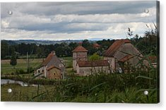 French Farm House Acrylic Print