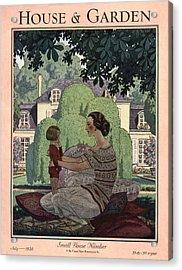 French Haute-bourgeois Domestic Scene Acrylic Print