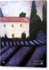 French Lavender Acrylic Print by Venus