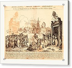 French Liberty, Nixon, John, -1818, Artist Acrylic Print