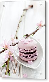 French Macaroons Acrylic Print