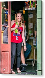 French Quarter - A Hand Grenade To Die For Acrylic Print by Steve Harrington