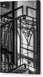 French Quarter Balcony Shadow Acrylic Print