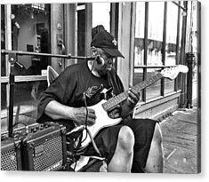 French Quarter Blues Acrylic Print by Mike Barch