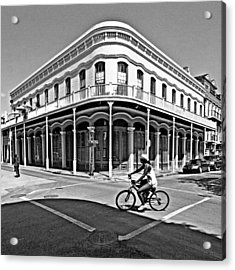 French Quarter Connection Acrylic Print by Andy Crawford