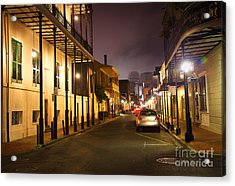 French Quarter Acrylic Print by Denis Tangney Jr